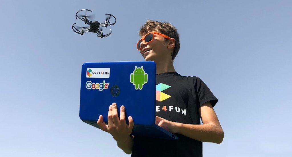 Python and Drones Coding Course for High Schools